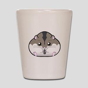 Fat Russian Dwarf Hamster Shot Glass