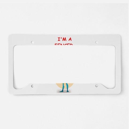 FENCER License Plate Holder