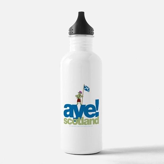 Aye Scotland Sports Water Bottle