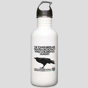 Tower Birds Stainless Water Bottle 1.0L