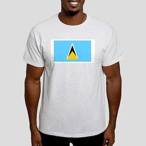 St Lucia flag Light T-Shirt