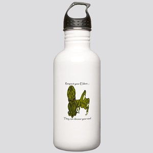 Respect your Elders Cthulhu Water Bottle