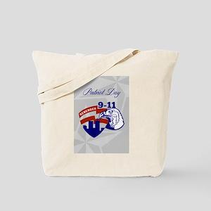 Remember 911 Patriots Day Poster Tote Bag