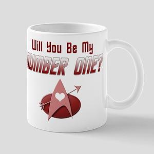 Be My Number One Star Trek Mugs