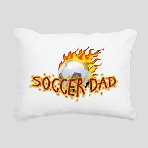Soccer Dad! Rectangular Canvas Pillow