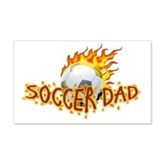 Soccer Dad! Wall Decal