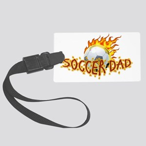 Soccer Dad! Large Luggage Tag