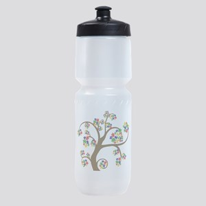 Puzzled Tree of Life Sports Bottle