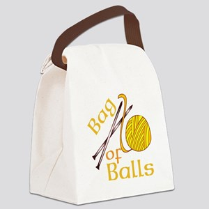 Bag Of Balls Canvas Lunch Bag