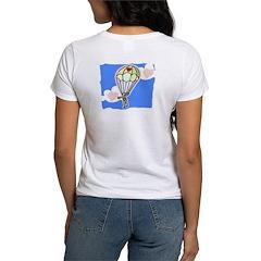 Parachuting Into Love Women's T-Shirt