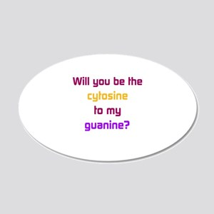 Will You Be the Cytosine to My Guanine? Wall Decal