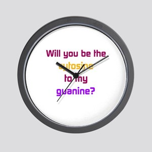 Will You Be the Cytosine to My Guanine? Wall Clock