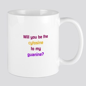 Will You Be the Cytosine to My Guanine? Mugs