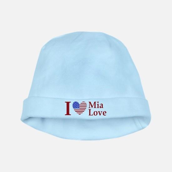 Mia Love I Love large baby hat