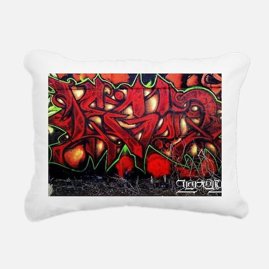 Legun Red demon Rectangular Canvas Pillow