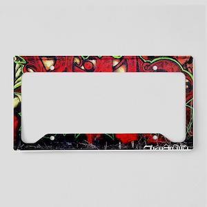 Legun Red demon License Plate Holder