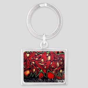Legun Red demon Landscape Keychain