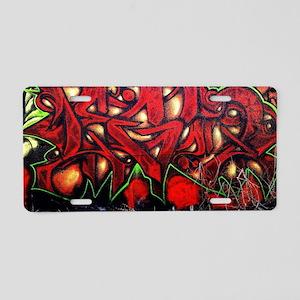 Legun Red demon Aluminum License Plate
