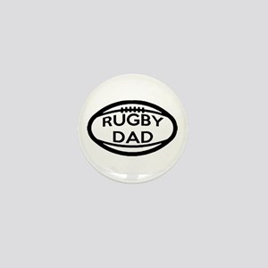 Rugby Dad Mini Button
