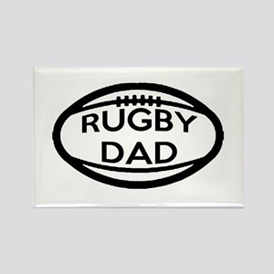 Rugby Dad Magnets