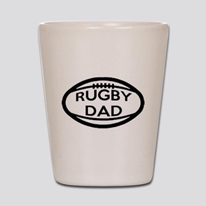 Rugby Dad Shot Glass