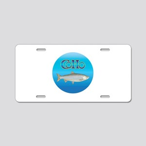 Earth Yourself Aluminum License Plate