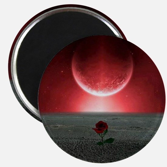 Rose and Planet - Love Theme Magnet