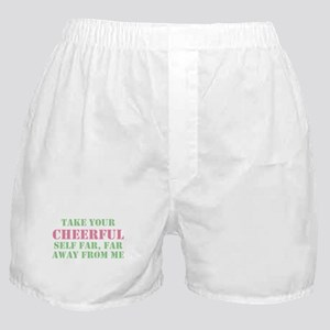 Anti-Cheerful People Boxer Shorts