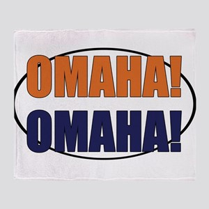 Omaha Omaha Throw Blanket