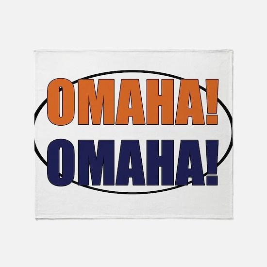 Omaha Omaha Throw Blanket