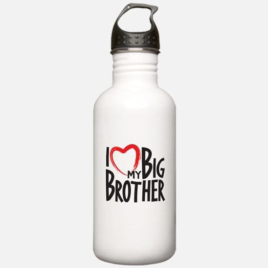 I heart my Big Brother Water Bottle
