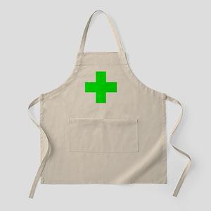 Medical Marijuana Cross Apron