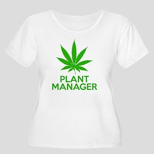 Plant Manager Women's Plus Size Scoop Neck T-Shirt