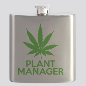 Plant Manager Weed Pot Cannabis Flask