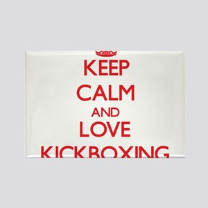 Keep calm and love Kickboxing Magnets