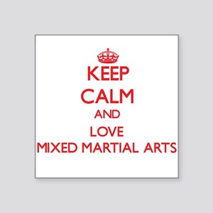 Keep calm and love Mixed Martial Arts Sticker