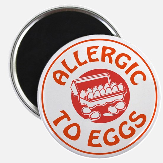 ALLERGIC TO EGGS Magnets