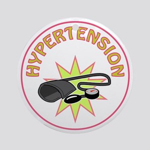 HYPERTENSION Ornament (Round)