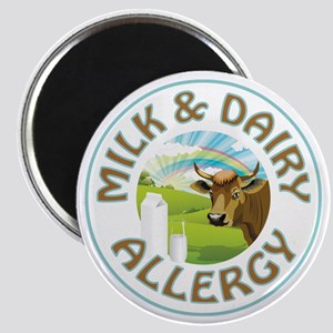 MILK AND DAIRY ALLERGY Magnets