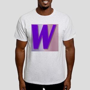 Purple W Monogram Light T-Shirt