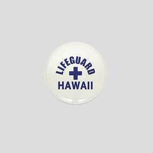 Lifeguard Hawaii Mini Button