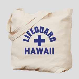 Lifeguard Hawaii Tote Bag