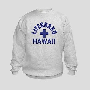 Lifeguard Hawaii Kids Sweatshirt