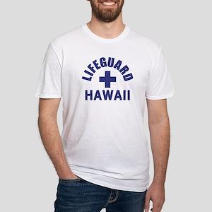 Lifeguard Hawaii Fitted T-Shirt