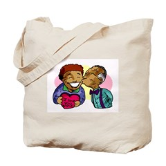 Elder Kiss Tote Bag
