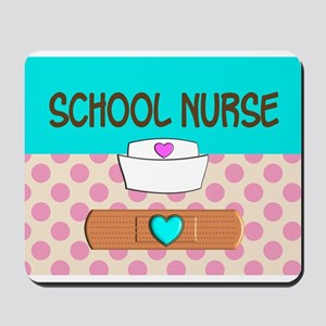 School Nurse 2 Mousepad