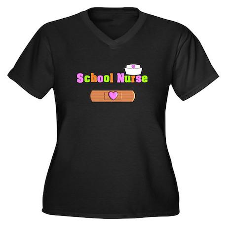 School Nurse 3 Plus Size T-Shirt