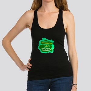Better At Golf/Gerald Ford Racerback Tank Top