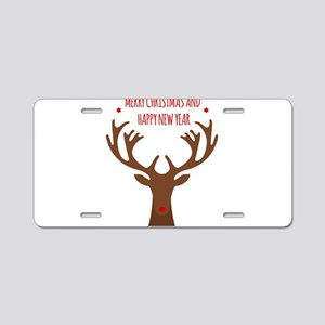 merry chistmas Aluminum License Plate