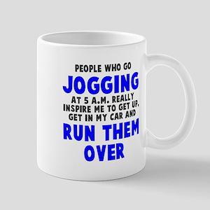 People who go jogging Mug